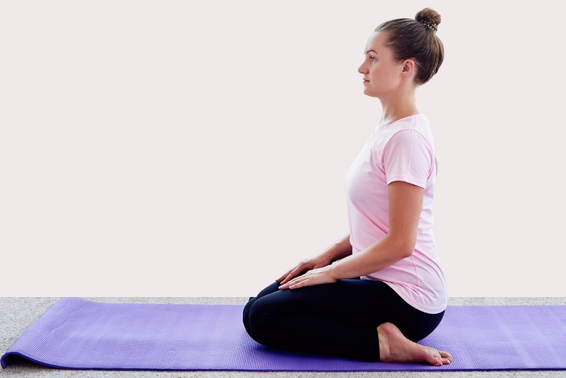 Hero Pose (Virasana): How to Do (Steps) and Benefits - Fitsri