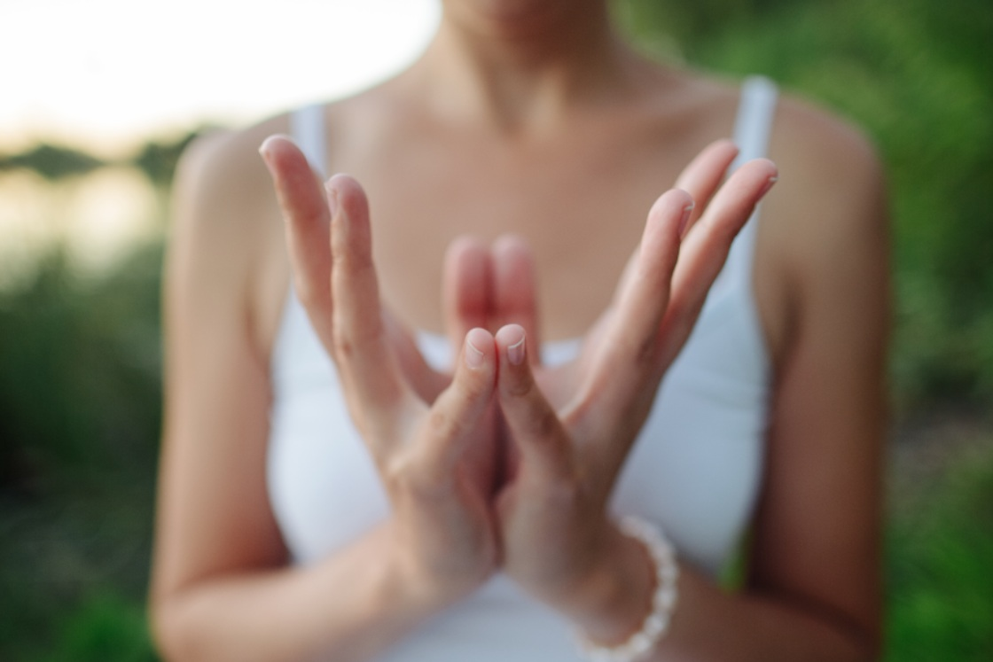Lotus Mudra Pose